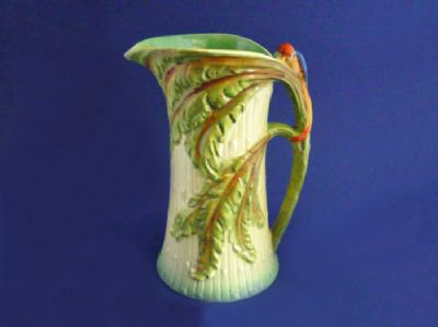 Burleigh Ware 'Bird of Paradise' Flower Jug c1939